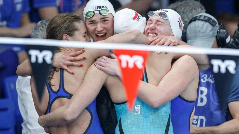 Złote polskie pływaczki. Najlepsze w Europie