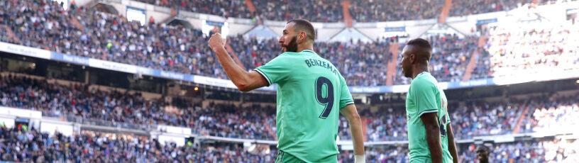Pewne zwycięstwo Realu Madryt. Kolejny świetny występ Benzemy