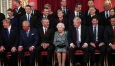 Liderzy NATO u królowej Elżbiety
