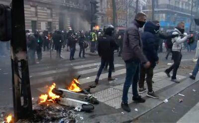 """""""Czarny czwartek"""" we Francji. Strajki i paraliż komunikacyjny w całym kraju"""