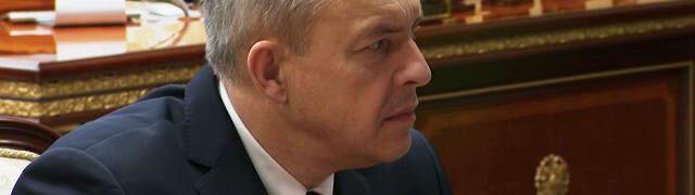 Generał KGB na czele administracji Łukaszenki. Jest objęty unijnymi sankcjami