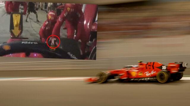Mechanik ryzykował zdrowiem na pit-stopie Vettela
