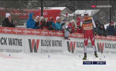Riiber wygrał niedzielne zawody kombinacji norweskiej w Lillehammer