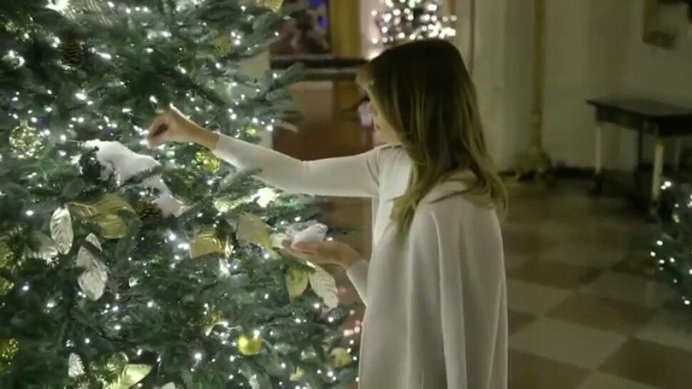 58 choinek w Białym Domu. Melania Trump pokazała świąteczne dekoracje