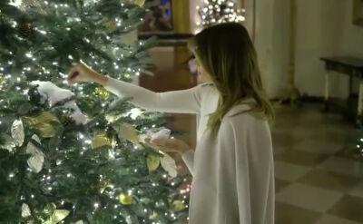 Biały Dom gotowy na Święta Bożego Narodzenia
