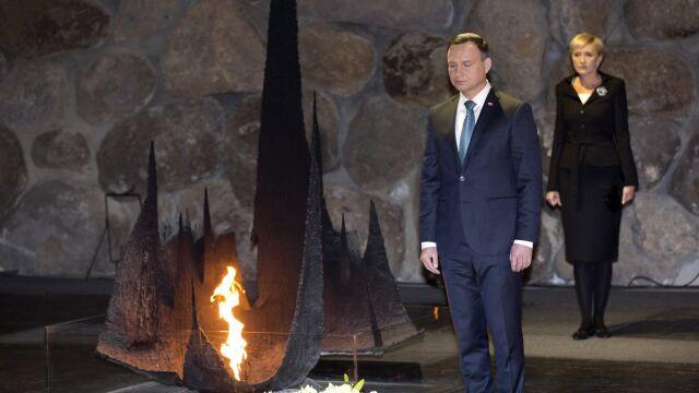 Andrzej Duda w Yad Vashem