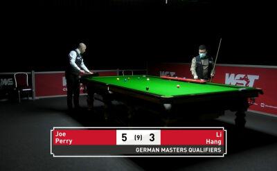 Perry awansował do drugiej rundy kwalifikacji do German Masters