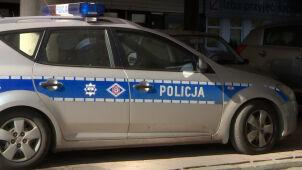 Radiowozem ochraniał prywatny transport, bo