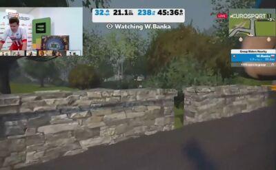 Witold Bańka po 4. etapie ORLEN e-Tour de Pologne Amatorów