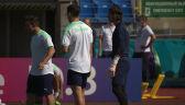 Trening Szwajcarii przed meczem z Hiszpanią w ćwierćfinale Euro 2020