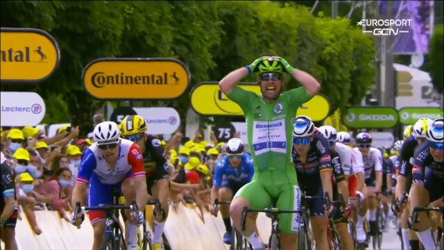 Cavendish wygrał 6. etap Tour de France