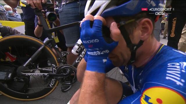 Niesamowita radość Cavendisha po wygraniu 4. etapu Tour de France