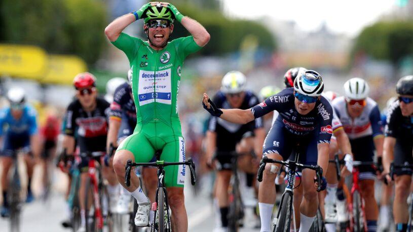 Cavendish znów pisze historię Tour de France. Ma już 32 etapowe zwycięstwa