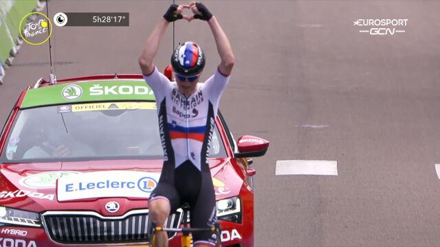 Mohorić wygrał 7. etap Tour de France