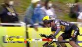 Roglić na mecie 5. etapu Tour de France