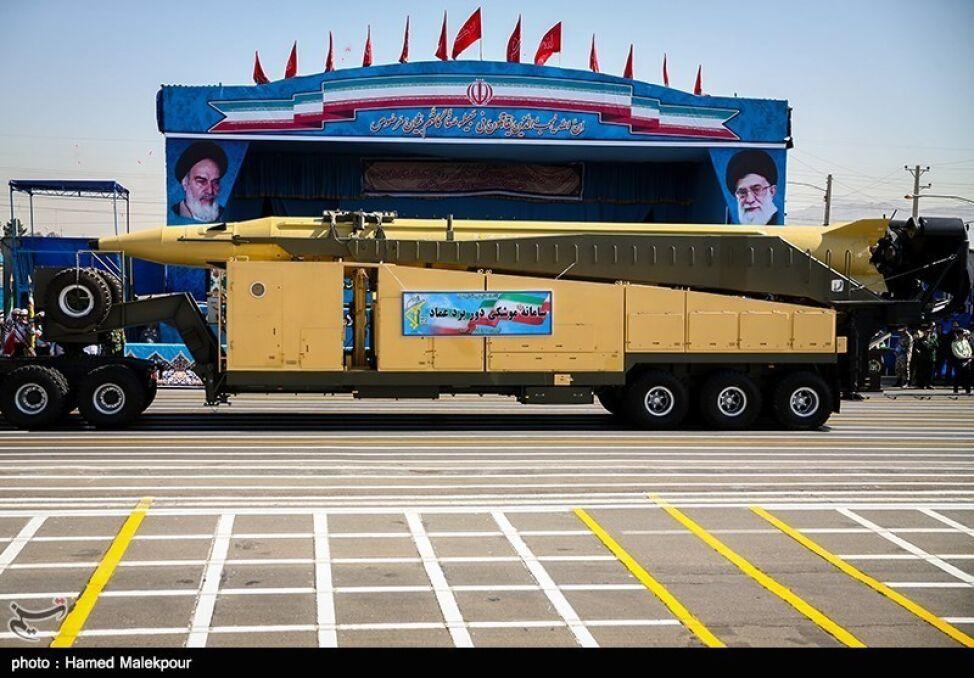 Irańczycy stworzyli wiele typów rakiet balistycznych. Niewiele wiadomo o ich realnych możliwościach bojowych czy o tym, ile ich wyprodukowano. Na zdjęci rakieta Qiam na kołowym transporterze