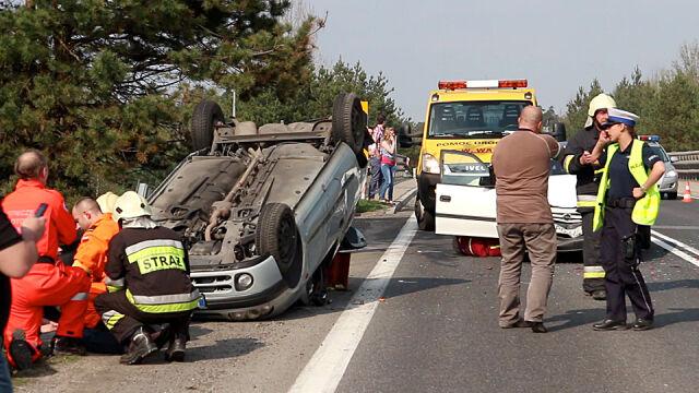 Bezpieczniejsze wakacje na drogach. Mniej wypadków i mniej ofiar niż rok temu