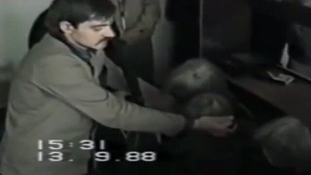 Trynkiewicz: Uderzałem z góry, na oślep.  Nagranie z wizji lokalnej z 1988 r.