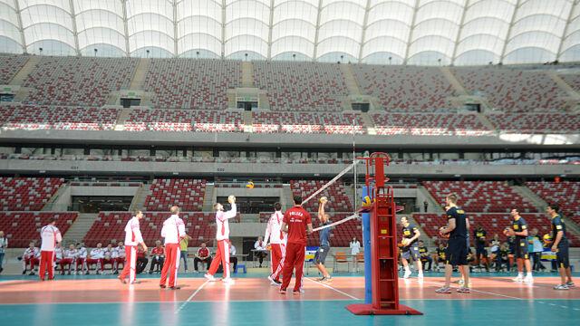 Wielka siatkówka na Narodowym. Otwarcie mundialu w Warszawie