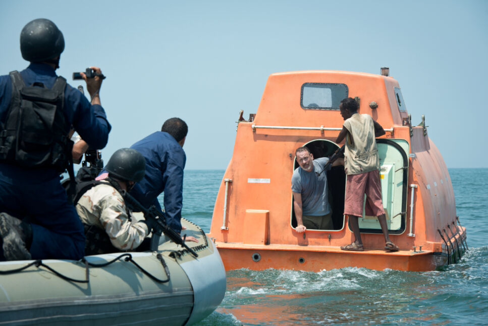 Tom Hanks i Barkhad Abdi