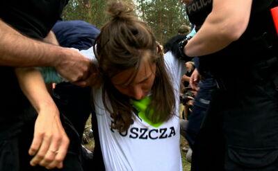 Protestowali przeciw wycince w Puszczy Białowieskiej. Wnioski o ukaranie