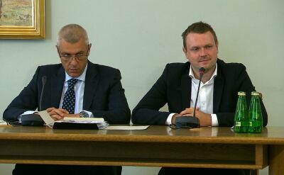 Wyrok komisja wydała jeszcze przed przesłuchaniem Michała Tuska i Donalda Tuska