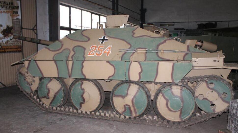 Niszczyciel czołgów trafił do muzeum. Jedyny taki w Polsce