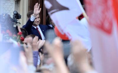 """""""Sto lat!"""" dla prezydenta elekta"""