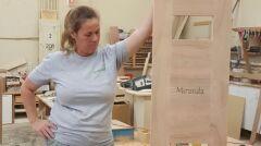 Prace nad trumienką dla Mirandy