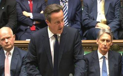 David Cameron chce ostrych sankcji przeciwko Rosji