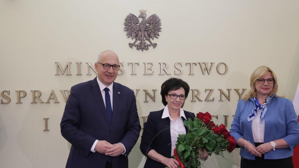 Elżbieta Witek ministrem spraw wewnętrznych i administracji