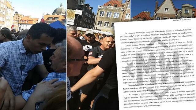 Młodzież Wszechpolska: nie zaatakowaliśmy działaczy KOD-u