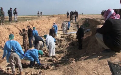 Krwawa wojna z terrorem. Masowe groby i tortury w więzieniach
