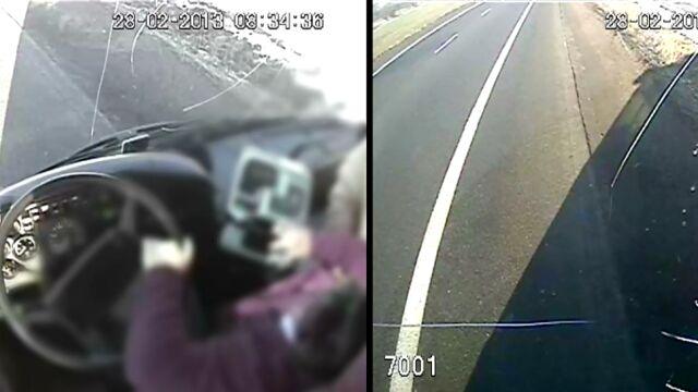Kierowca autobusu traci przytomność. Pasażerowie chwytają za kierownicę