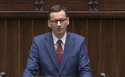 Premier: nasze działania w kierunku zaostrzania kodeksu karnego zmierzają do tego żeby była nieuchronność kary
