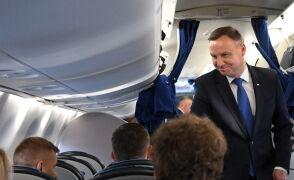 Andrzej Duda wyleciał we wtorek do Brukseli. Weźmie udział w szczycie NATO