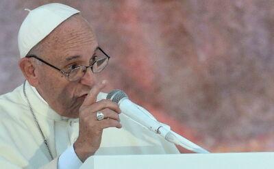 Druga część wystąpienia papieża Franciszka w Brzegach