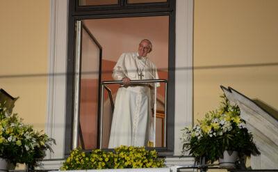 """Wpadka tłumacza. Franciszek zachęcał pielgrzymów do """"hałasowania"""""""
