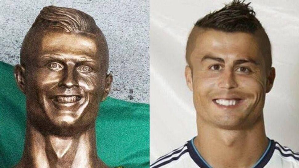 """""""To najgorsze, co dzisiaj widziałem"""". Cristiano Ronaldo z brązu, internauci się śmieją"""