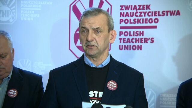 Strajk w szkołach. Różne dane Związku Nauczycielstwa Polskiego i resortu edukacji