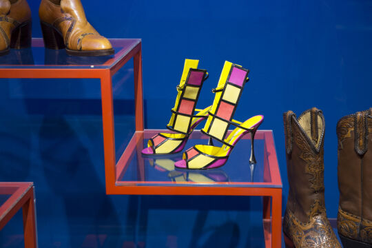 "Wystawa ""Shoes: Pleasure and Pain"" w Victoria and Albert Museum w Londynie"