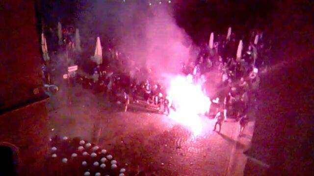 Kibole zaatakowali skłot anarchistów