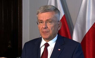 Karczewski: będzie kolejna nowelizacja ustawy o SN jeśli zajdzie taka potrzeba