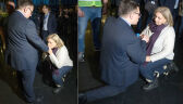 Emocje w LOT. Prezes i przedstawicielka związkowców padli na kolana