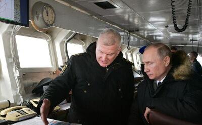 Rosyjskie manewry u wybrzeży Krymu