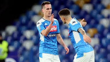 Trener Napoli rozczarowany postawą Milika.