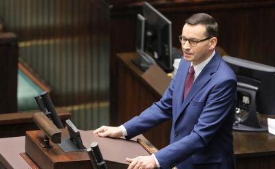 Morawiecki: Na Bliskim Wschodzie dochodzi do wzajemnej wymiany ciosów. Sytuacja jest niestabilna