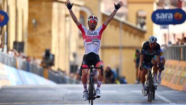 Włosi z kolejnym zwycięstwem w Giro. Ulissi silniejszy od Sagana