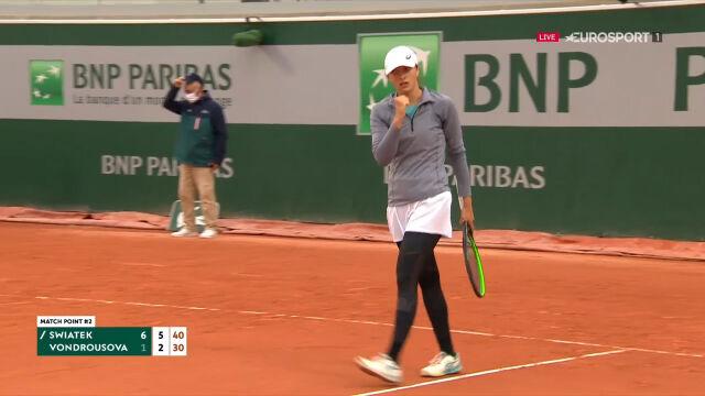 Świątek awansowała do 2. rundy Roland Garros