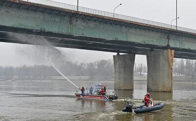Świadek pierwszego pożaru na moście: nie wyglądał na ognisko